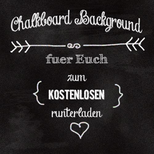 Chalkboard Freebie III
