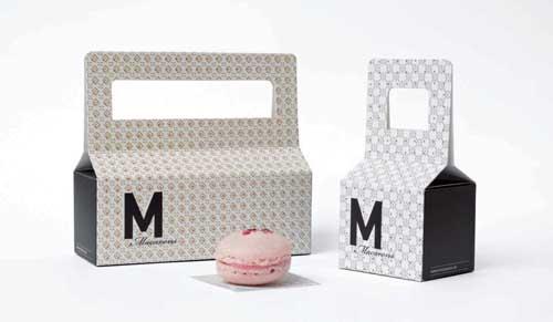 "Fertig verpackt eignen sich die ""MMacarons"" hervorragend als kleines, geschmackvolles Geschenk."